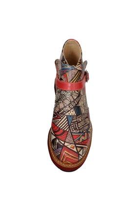 Dogo African Symbols Kadın Kısa Bot 4
