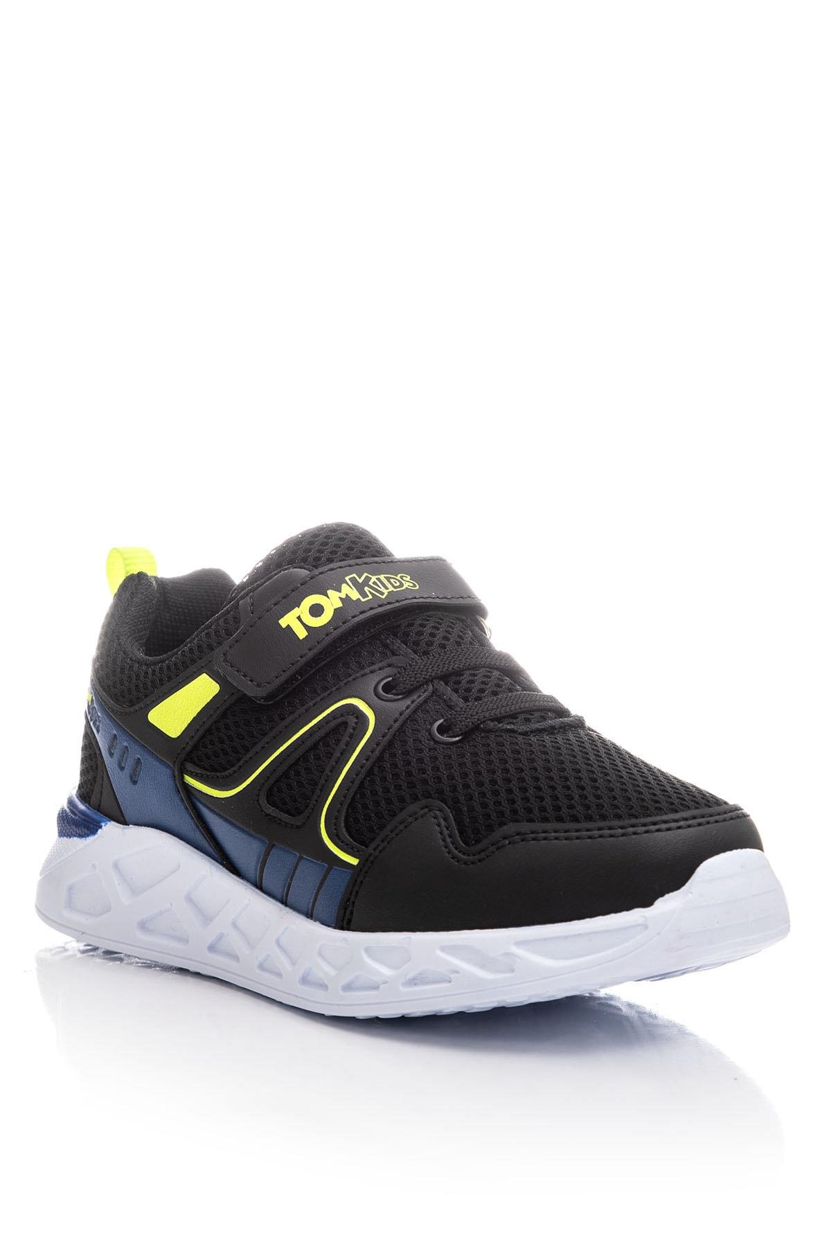 Tonny Black Erkek Çocuk Siyah Spor Ayakkabı TB3401-3 1