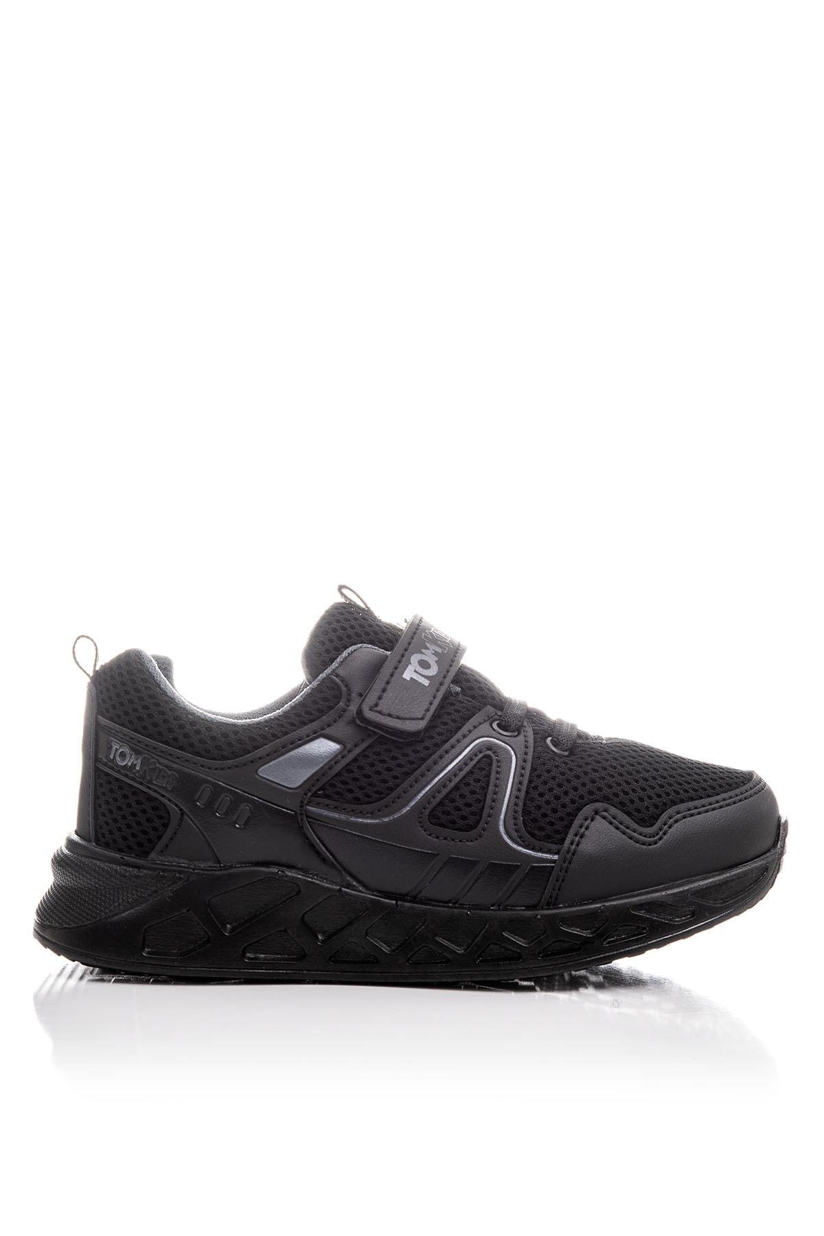 Tonny Black Unisex Çocuk Siyah Spor Ayakkabı TB3401-3 2