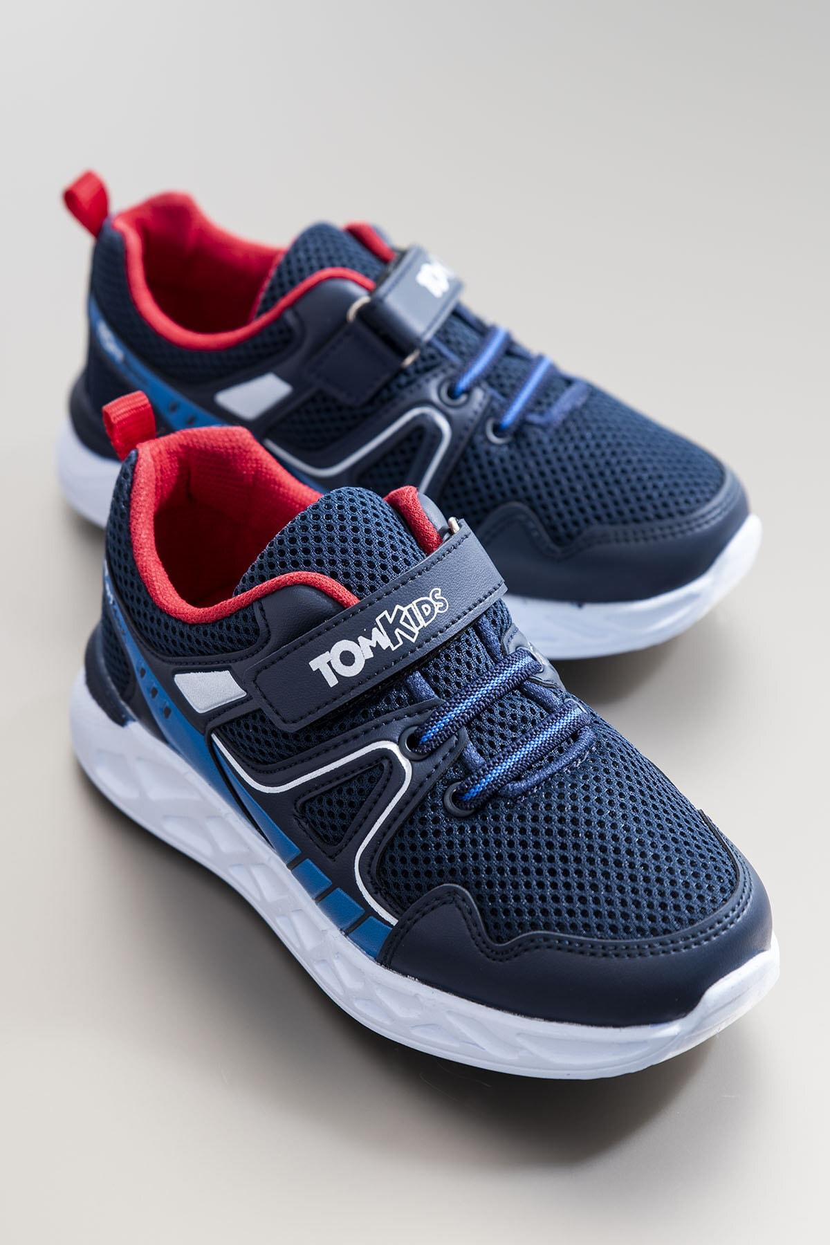 Tonny Black Erkek Çocuk Lacivert Spor Ayakkabı TB3401-3 0