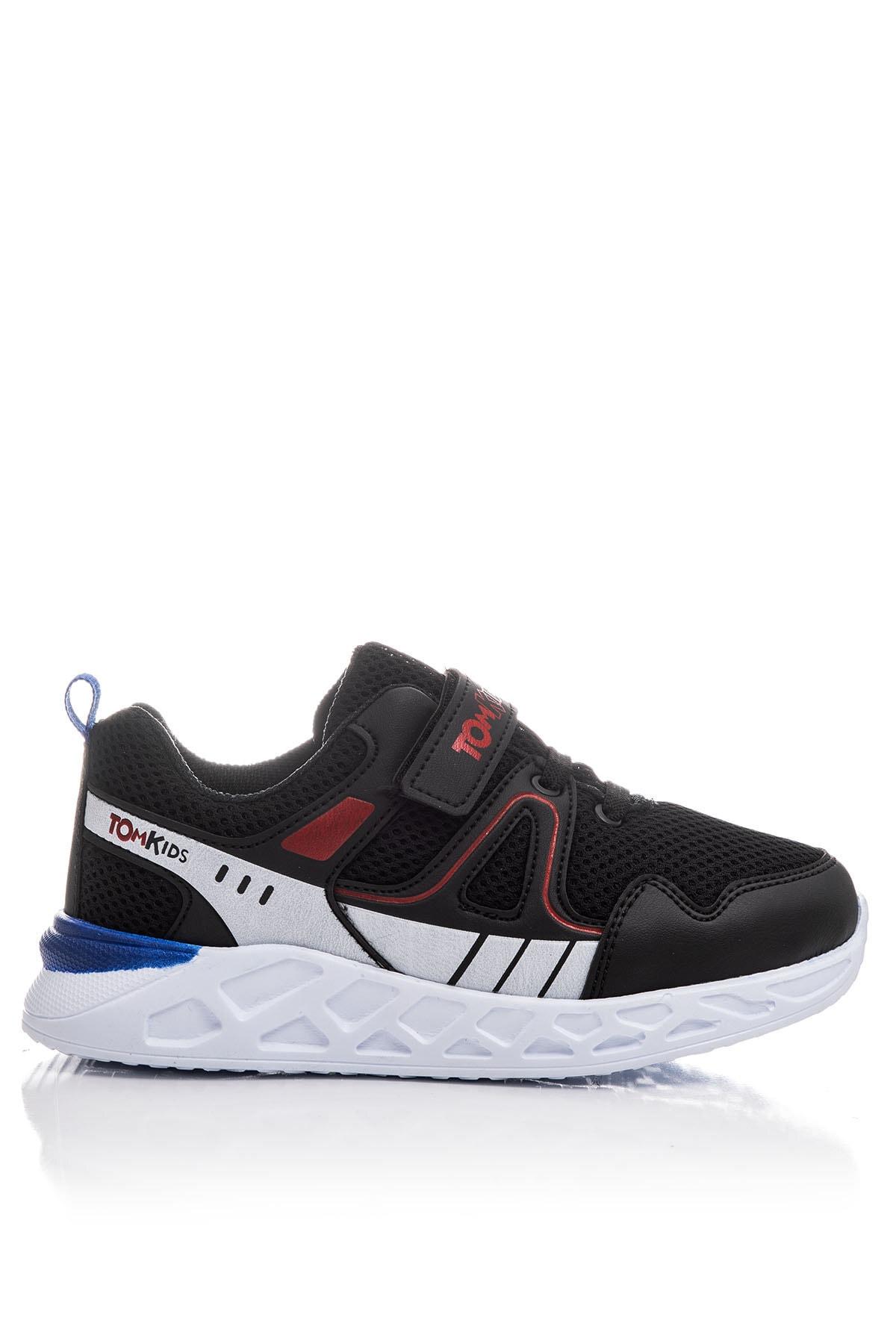Tonny Black Erkek Çocuk Siyah Çocuk Spor Ayakkabı TB3401-3 2