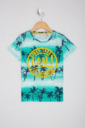 US Polo Assn Yesil Erkek Çocuk T-Shirt 0