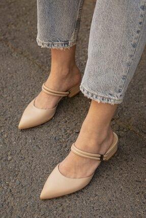 Straswans Kadın Bej  Topuklu Ayakkabı 0
