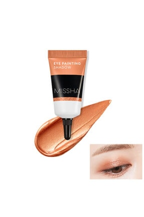 Missha Jel Krem Göz Farı - Eye Painting Shadow (Dream Of Orange) 8809581460119 0