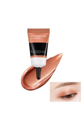 Missha Uzun Süre Kalıcı Jel Krem Göz Farı - Eye Painting Shadow (Sunset Brown) 8809581460102 0