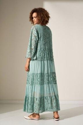Camena Dantel Detaylı Elbise 2019070500155 2
