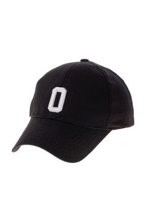 SYT Şapka Alfabe Serisi Siyah O Harfi 0
