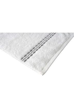Maisonette Flossy Havlu 30x50 cm Beyaz-gri 2