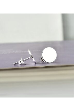 jelux silver Kadın Beyaz Jelux Özel 1000 Ayar Saf Gümüş Dünya Model Küpe 0