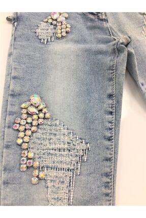Elif Bebe Çocuk Mavi Pantolon 1