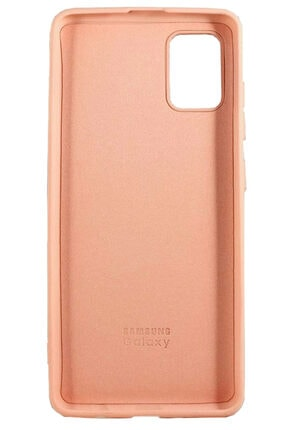 Joyroom Samsung Galaxy A71 Lansman Kılıf Pudra Pembe 2