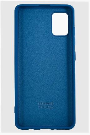 Joyroom Samsung Galaxy A71 Lansman Kılıf Mavi 1