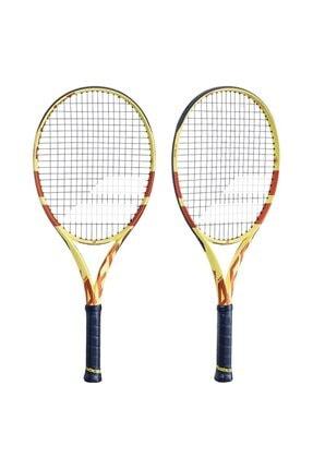 "BABOLAT Pure Aero Jr26"" Roland Garros Çocuk Tenis Raketi 2"