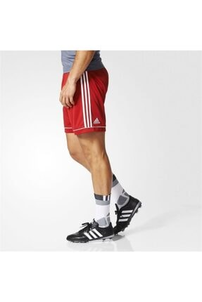 adidas Erkek Kırmızı Squadra 17 Spor Şort Bj9226 3