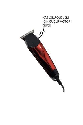 Mkey Siyah 6188 Kablolu Saç Sakal Tıraş Makinesi Seti 2