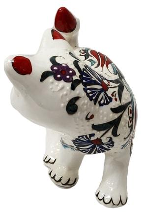 Otogar Çini El Yapımı Çini Kedi Biblo 1