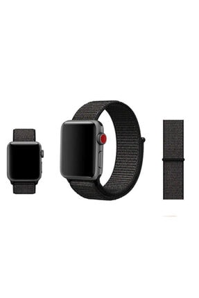 Zore Apple Watch 42mm Krd-03 Hasır Kordon - 2