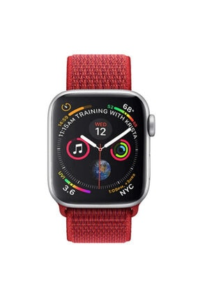 Zore Apple Watch 42mm Krd-03 Hasır Kordon - 3