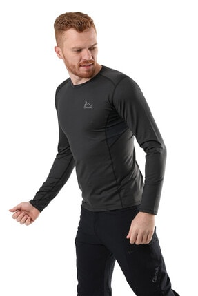 Climbolic Erkek Gri Basic Sweatshirt 1