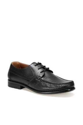 Polaris Hakiki Deri Erkek Siyah Ayakkabı 000000000100350389 0