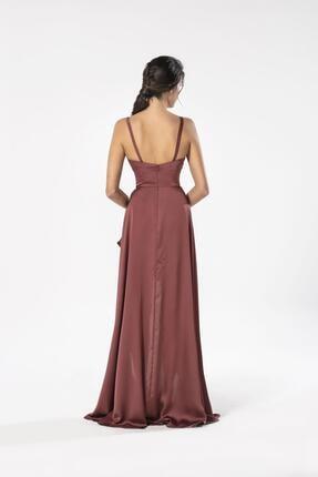 Maxxe Anvelop Saten Elbise 1