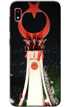 Turkiyecepaksesuar Samsung Galaxy A10 Kılıf Silikon Baskılı Desenli Arka Kapak 0
