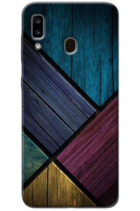 Noprin Samsung Galaxy A20 Kılıf Silikon Baskılı Desenli Arka Kapak 0