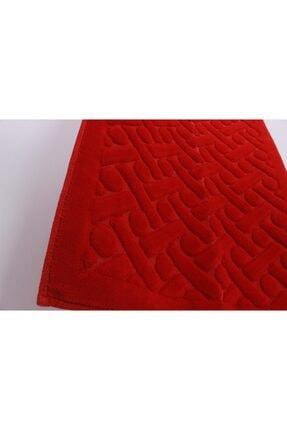 Çapa Home 2li Pamuk Klozet Takım T Kırmızı (hediyeli) 1