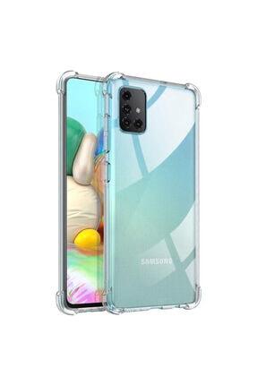 Zengin Çarşım Samsung Galaxy A71 Ultra Ince Şeffaf Airbag Anti Şok Silikon Kılıf 2