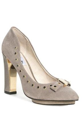 CLARKS Kadın Gri Azızı Immy Topuklu Ayakkabı 0