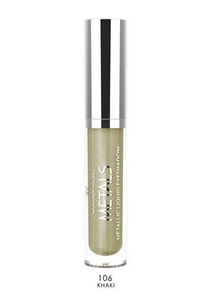 Golden Rose Likit Metalik Göz Farı - Metals Metallic Liquid Eyeshadow No: 106 0