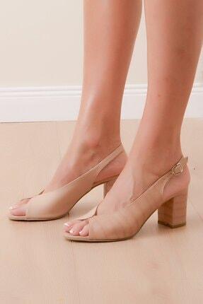 Shoes Time Kadın Kahverengi Topuklu Ayakkabı 1
