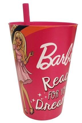 KaktüsKedi Pipetli Barbie Lisanlı Çocuk Bardağı 713500 0