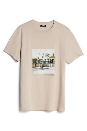 Bershka Baskılı T-shirt 0