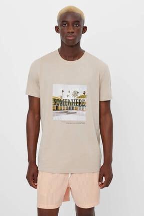 Bershka Baskılı T-shirt 1