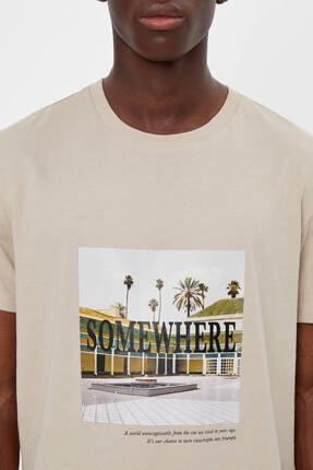 Bershka Baskılı T-shirt 3