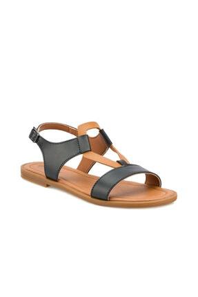 Polaris 315290.Z Siyah Kadın Sandalet 100507404 0