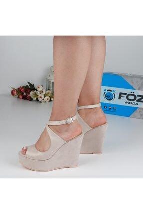 Föz Bej Kadın Dolgu Topuklu Ayakkabı OZ00667 2