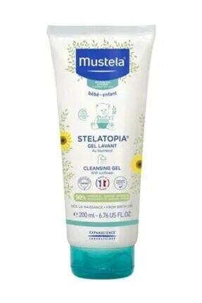 Mustela Stelatopia Gel Lavant Cleansing  200 ml Çok Kuru Ciltler Için Gel BSL00354 0