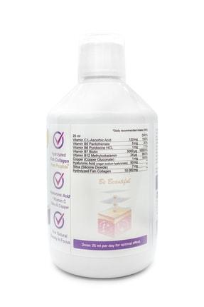 Swedish Nutra Collagen Pure Peptide 10 000 mg (Balık) – Tip I & Tip III- Sıvı Form - 500 ml 3