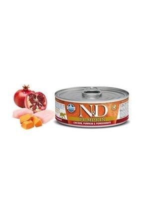 ND Balkabaklı Tavuk Ve Narlı Kedi Konservesi 80 gr 0