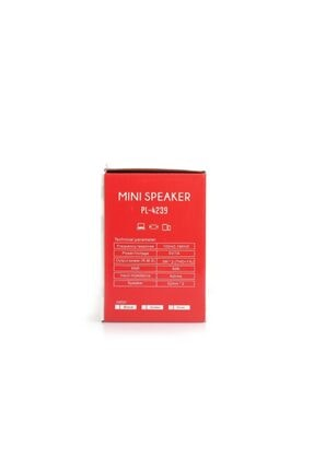 Platoon Pl-4239 1+1 Usb Speaker 3