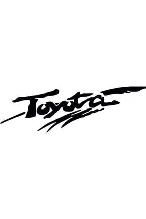 TSC Toyota Sticker Araba Yapıştırması 0