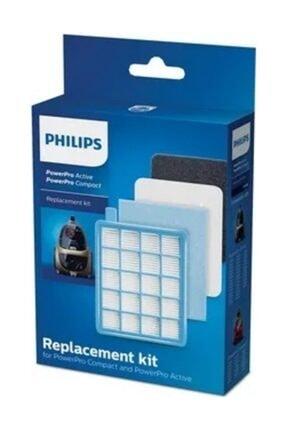 Philips Phılıps Fc 8475/01 Powerpro Compact Orijinal Hepa Filtre Seti 0