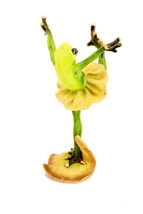 pologift Polyester Dekoratif Balerin Kurbağalar 3