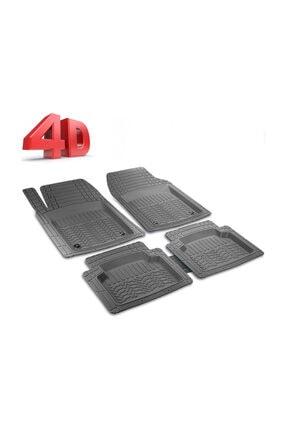 Otobestto Lada Vega  Uyumlu 4D Havuzlu Kauçuk Paspas Siyah Kaymaz Taban 1.Sınıf Kauçuk Ücretsiz Kargo 0