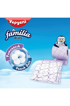 Familia Plus Parfümlü Tuvalet Kağıdı 48 Rulo 3