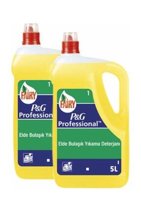 Fairy Sıvı Bulaşık Deterjanı 5000 ml (P&G Professional) x 2  7777777174323 0