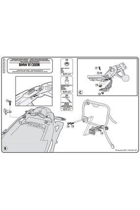 Givi Plxr5100 Bmw R 1200R (11-14) Yan Çanta Taşıyıcı 2