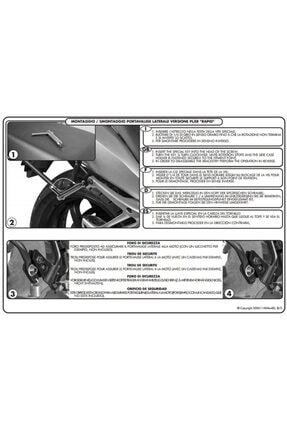 Givi Plxr5100 Bmw R 1200R (11-14) Yan Çanta Taşıyıcı 3
